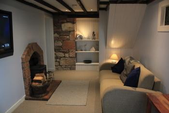 Cromla Cottage - Livingroom