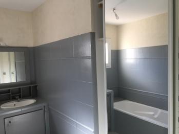 Bathroom-1 with bath, shower and 2 wash basins
