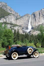 1931 Model A Roadster in Yosemite