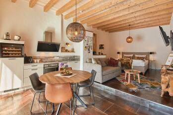 Apartment-Superior-Eigenes Badezimmer-Terrasse-Rochter Kammer