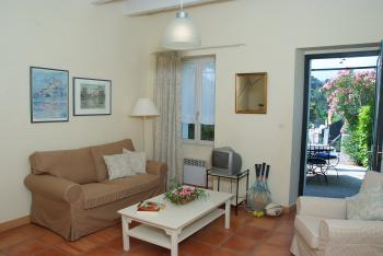 Living area of cottage for 4 persons