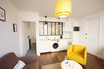 Séjour d'un appartement 4 personnes - ROUEN CENTRE