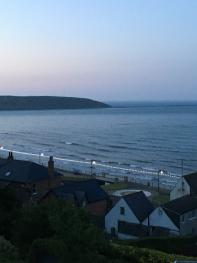 Crescent Gardens looking to Filey Brigg