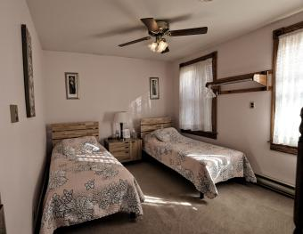 Twin Beds in a Charming Inn