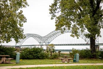 Mighty Mississippi River Bridge