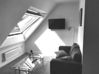 Leazes Suite - Open Plan Lounge Dining Area