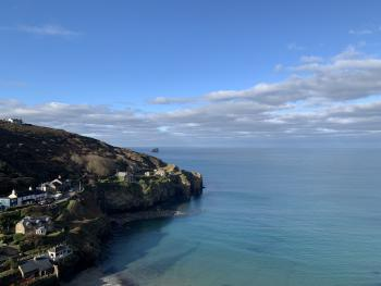 Trevaunance Cove - a short walk from the hotel