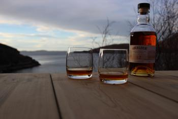 Savour the views with a dram of whisky