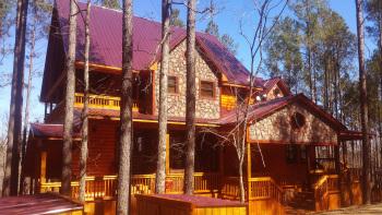 Hilltop Honey Cove 5BR Cabin