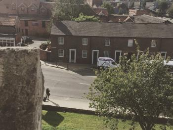 View of Queen Street from the City Walls