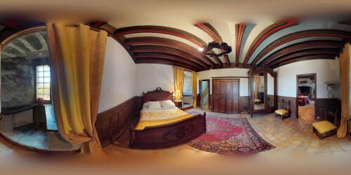 Appartement-Suite-Salle de bain-Vue sur la campagne-Médiéval - Tarif de base