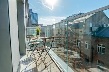 Hilltop Serviced Apartments - Balcony