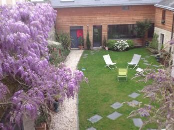 L'ATELIER 2-Studio-Appartement-Salle de bain Privée-Vue sur Jardin