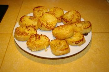petit-déjeuner : retour en enfance avec du pain perdu