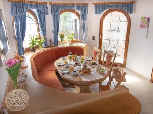 Sitzecke in der Wohnküche