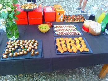 Repas buffet Mas Bazan