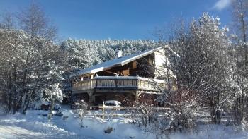 Ker Cartier - le chalet cartier en hiver
