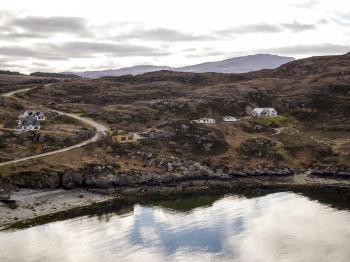 A stunning location in Ardmair, near Ullapool
