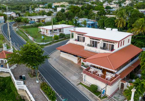 Arial View of Trade Winds Guesthouse & Restaurant