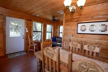 Cypress Hollow Cabin - Dining Room