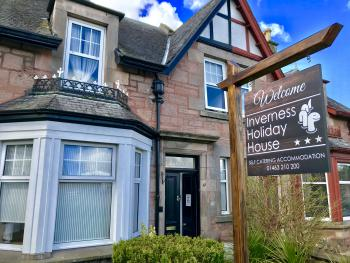 Inverness Holiday House - Inverness Holiday Home Entrance