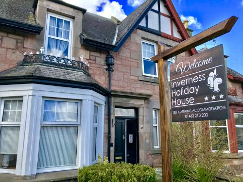 Inverness Holiday Home Entrance