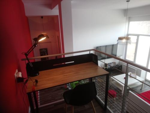 appartement bréhat : vue mezzanine