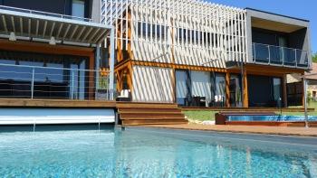 Villa Lascaux - Côté sud et piscine