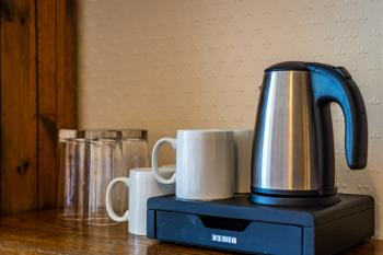 Tea and coffee facilities provided