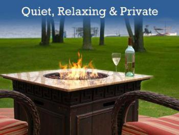 Quiet, relaxing and private