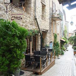 Restaurant étoilé Michelin dans le village