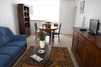 Appartement 1 chambre 2éme étage - DIEPPE - Salon / coin repas