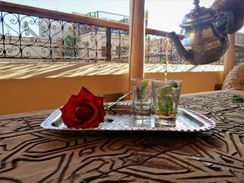 Unmissable moroccan mint tea