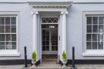 The Summer House - entrance