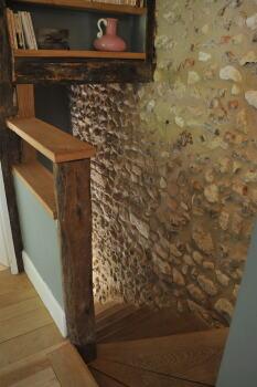Escalier privé Chambre Joséphine