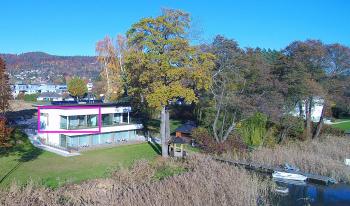 Luxus-Apartment-barrierefreies Badezimmer-Seeblick-Top 4 - mit Balkon