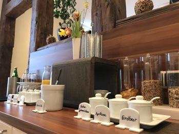 Frühstücksbuffet Jagdschloß Walkenried