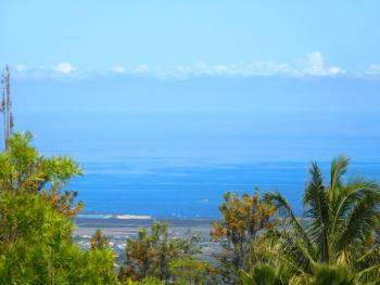 Ocean View of Kona Coastline from Plumeria and Orchid Suites