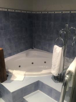 Detalle baño suite junior