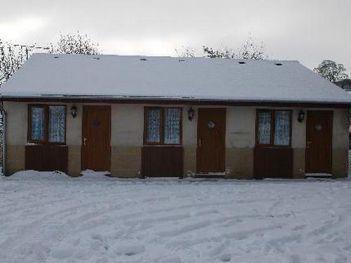 Accomodation block in winter