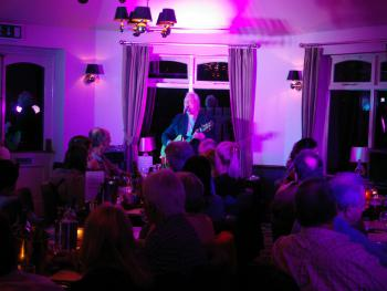 Live music events are regularly held in the dining room