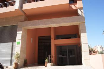 L'entrée de la résidence Anour 2