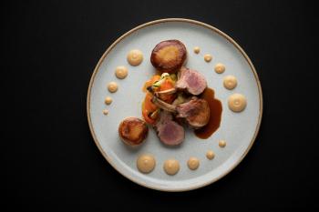 Roast Shropshire Rack of Lamb