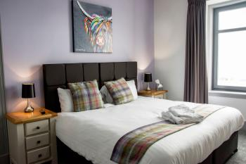 The Knowes Hotel & Restaurant - Double Room (En-Suite) Sea View