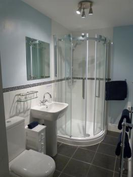 Ensuite shower room for Bedroom 1