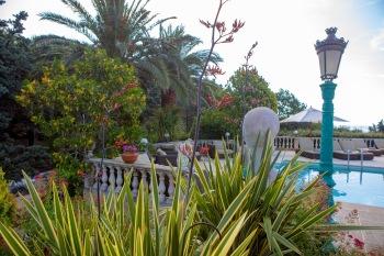 Garden View towards the pool