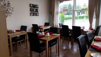 the dining room at Lacet House