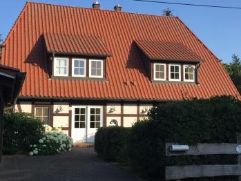Landhaus Kornblume - Vorderansicht Eingang