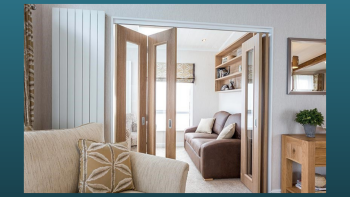 The Snug - A versatile space suitable to sleep a further 2 guests, with its own access door to the patio and bi-folding doors to the lounge