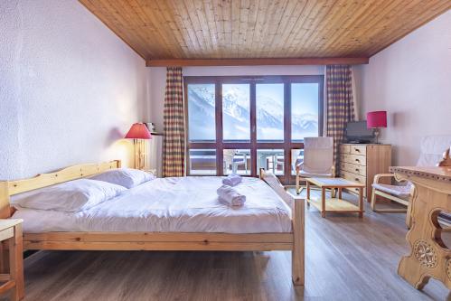 Appartement 66 avec Balcon - Vue sur Mont-Blanc